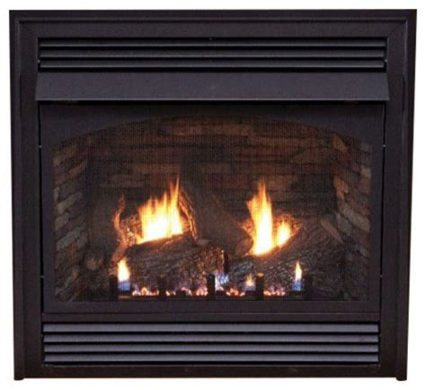 Vented Propane Fireplace Inserts With Blower by Premium 32 Quot Vent Free Thermostat Gas