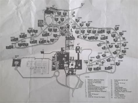 memories resort holguin map le plan picture of memories holguin resort rafael