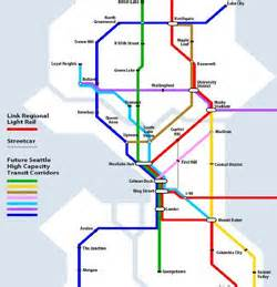 Seattle Light Rail Map by My Ballard 187 Mayor To City Council Be Bold Fund Rail