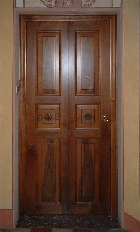 porte blindate a due ante modena artigiano falegname produzione porte blindate in