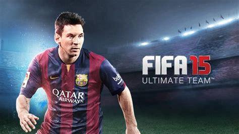 game mod apk fifa 15 fifa 15 ultimate team 1 6 0 mod apk unlocked everything