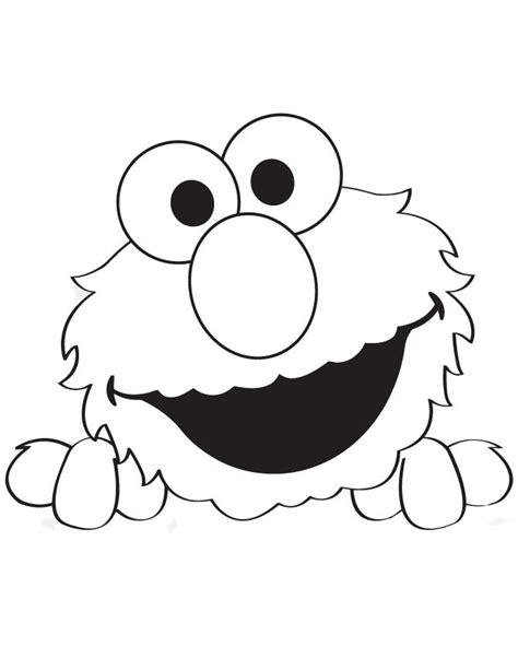 peek  boo elmo coloring page hm coloring pages elmo