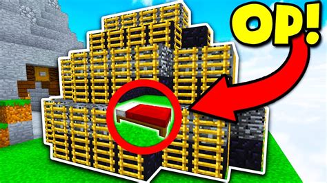 best minecraft challenges best obsidian base defense challenge minecraft bed wars