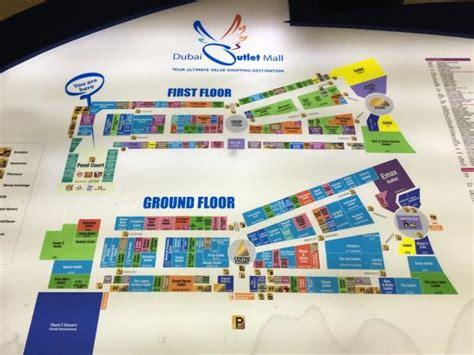 dubai mall layout map dubai outlet mall picture of dubai outlet mall dubai
