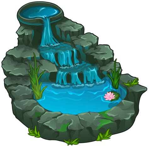 Waterfall png clipart best web clipart