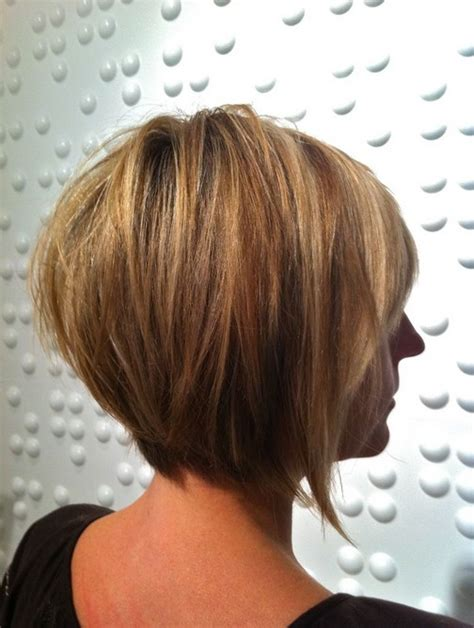 layered bob hairstyle back view popular short haircuts for women choose the right short