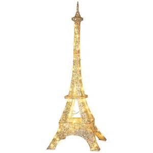 gemmy crystal splendor sparkle eiffel tower outdoor