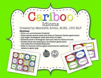 cariboo card template 71 best slp meaning word freebies images on