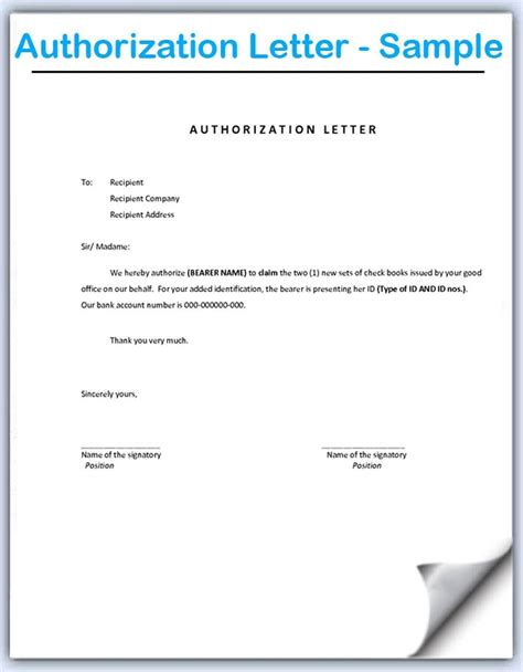 letter  authorization penn working papers