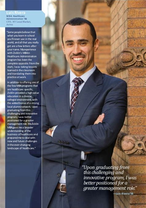 Evening Mba Baruch College by Baruch College Mba Brochure