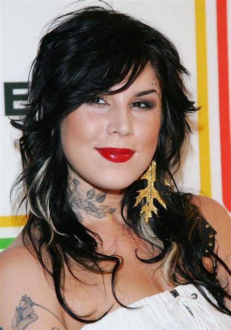 kat von d in entertainment weekly s quot must list quot party zimbio