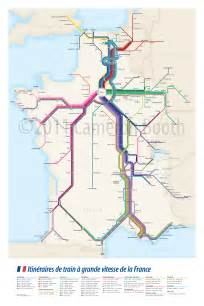France Train Map by France Amp Paris Train Rail Maps