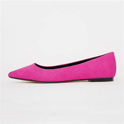 pointy flats shoes amourplato s slight heel pointy toe slip on flats