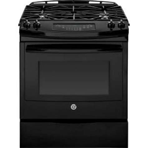 ge 5 6 cu ft slide in gas range with self cleaning oven