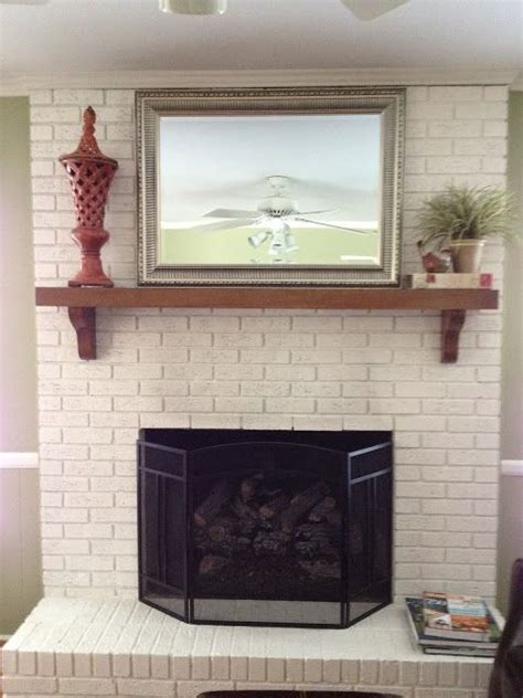 Brick Fireplace Facelift by Pin By Arey On Fireplace Ideas