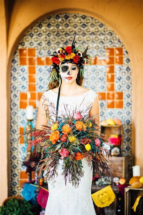 DAY OF THE DEAD WEDDING IDEAS   Bespoke Bride: Wedding Blog