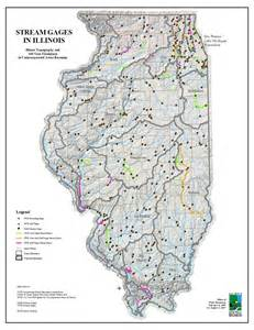 Map Of Illinois Rivers by Water Resources