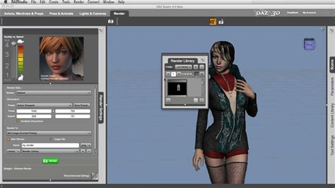3d free software daz studio 4 0 free 3d software welcome and overview