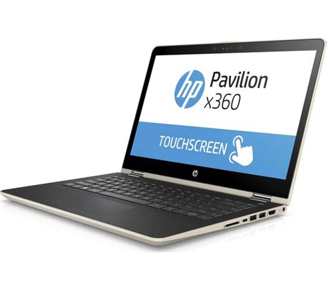 buy hp pavilion x360 14 ba095sa 14 quot 2 in 1 gold free