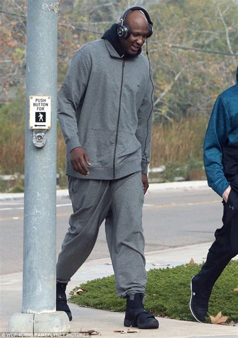 Takes A From Rehab by Lamar Odom Takes A Stroll From Rehab Terez Owens 1