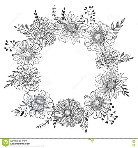 card template black and white floral card template stock vector illustration of book