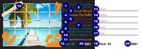 Vip Ticket Giveaway Vacation - win a vacation raffle ticket