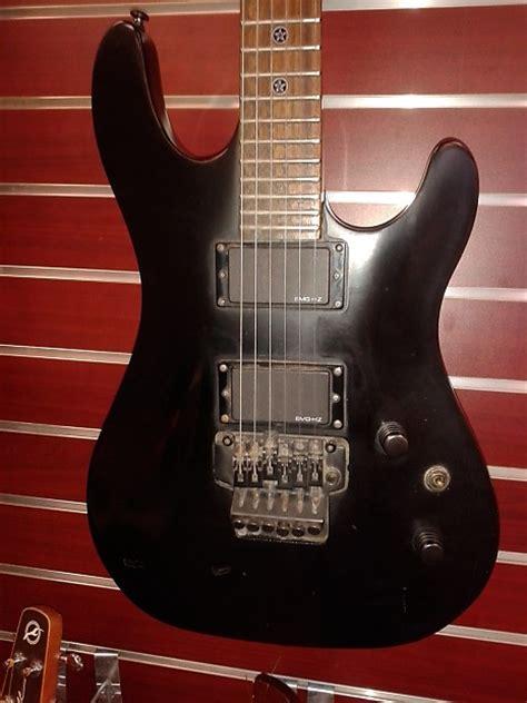Gitar Cort Evl K4 Black Efek Rock Well Distortion cort evl k4 electric guitar black matte reverb