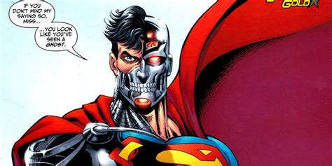 cyborg superman symbol is hank henshaw becoming the cyborg superman in comics