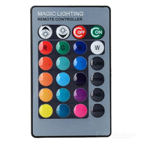 magic lighting remote controller app jrled 24 key wireless ir remote controller for rgb led