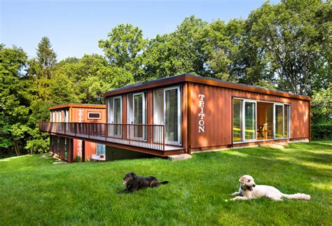 shipping container house is a modern masterpiece