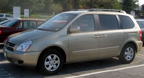 Kia Carnival 2007 Specifications 2007 Kia Carnival Ii Pictures Information And Specs