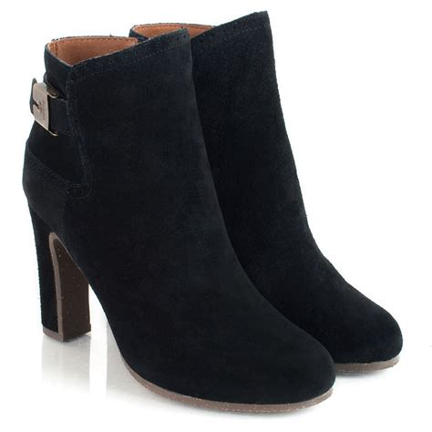 scholl ribame s suede ankle boot