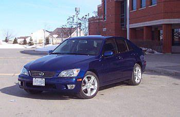 autos catest drive 2001 lexus is300