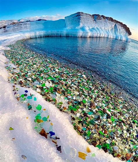 russian glass beach 25 best ideas about russia landscape on pinterest lake