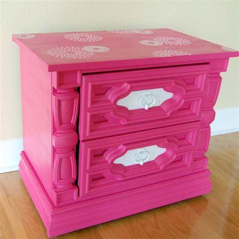 Fuschia Dresser by The Furniture Fanatic Pink Pink Dresser