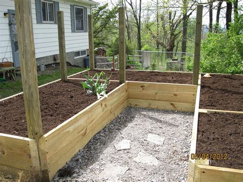 soil for raised bed vegetable garden garden design ideas