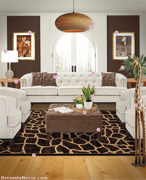 elevate your style with the look of giraffe home decor