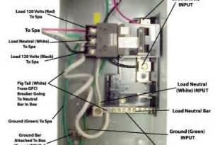 springs tub wiring diagram