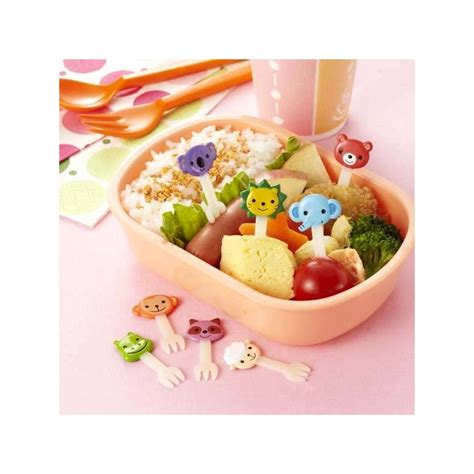 food accessories japanese bento box accessories food animal fork 8 pcs fo