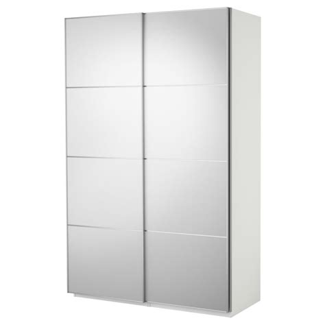 Pax Wardrobe With Sliding Doors Mirror Glass 200x66x236 Mirror Sliding Closet Doors Ikea