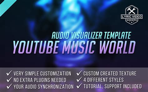 music audio premium visualizer after effects template