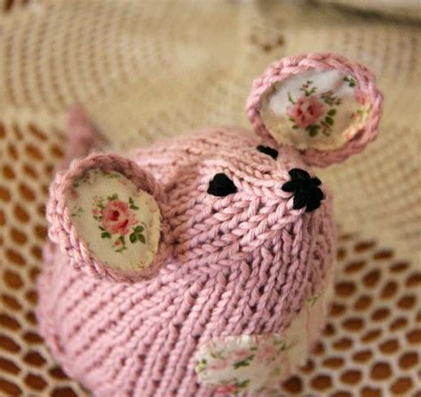 knitted mouse knitted mouse i the fabric ears knit crochet