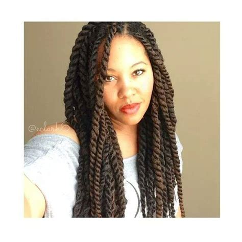 havana twist with marley hair styles marley havana twists with invisible roots natural hair