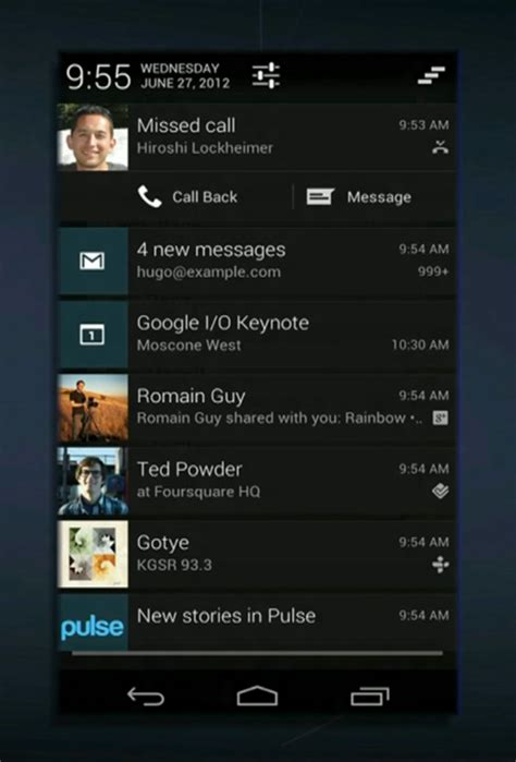 notification bar android android tips how to view notifications after they are appslova