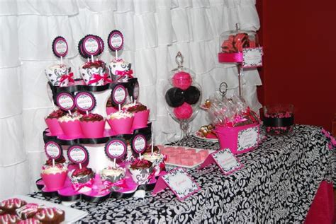 Pink And White Baby Shower Decorations by Sprinkled With Baby Shower Baby Shower Ideas
