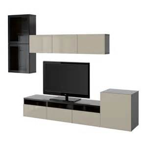 besta furniture best 197 tv storage combination glass doors