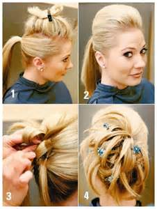 easy hairstyles for hair to do at home