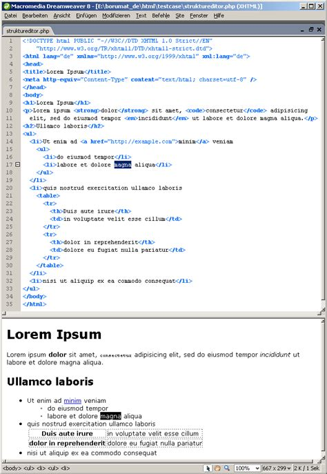 html quellcode layout allowing arbitrary indentation in python coding forums