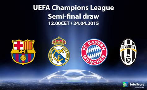 Live Comfortably Bayern Barcelona Juventus And Real Madrid In Champions