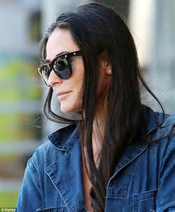damy moore hair colour at home demi moore 51 reveals grey hair as she makes a style